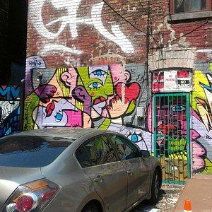 TO Graffitti Alley shot