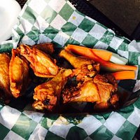 Awesome Chicken Wings at the DRI