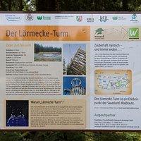 De beschrijving van de Lörmecke-Turm
