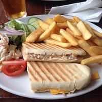 Tuna & Cheese Panini