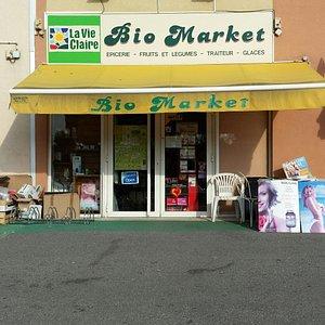"""Votre épicerie bio """"La Vie Claire"""" dans le golfe de Saint Tropez"""