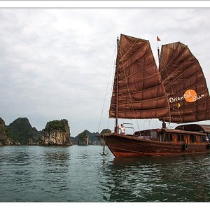 ORIENTAL SUN, OUR AUTHENTIC 2-CABINS PRIVATE JUNK ON HALONG BAY
