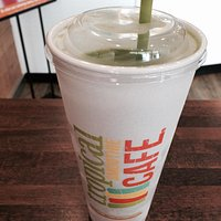 The Island Green smoothie is fantastic!
