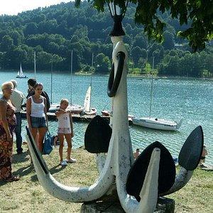 Jezioro Żywieckie-dobry sposób na odpoczynek.