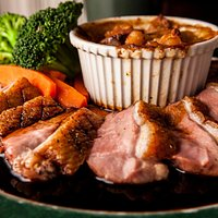 Duck Breast with Duck Cassoulet