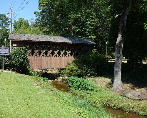 Pretty covered bridge