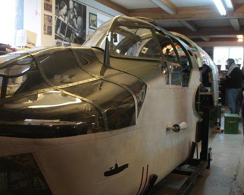 WW2 Bristol Bolingbroke under restoration
