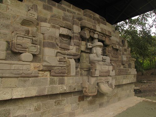 Ceremonial Maya Doorway at Rastrojon