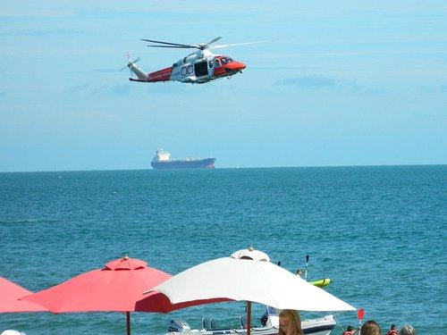 Air sea rescue demo