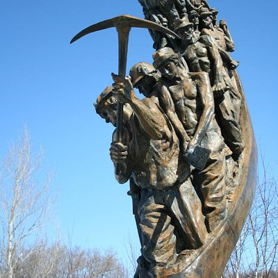 Miners Monument Sudbury