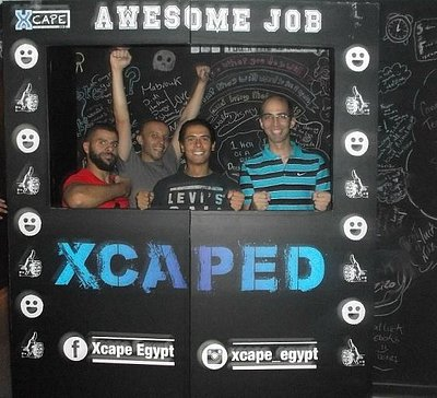 My first Xcape experience .. am out :)