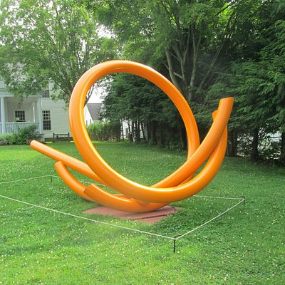 Lawn Sculpture at Stowe library