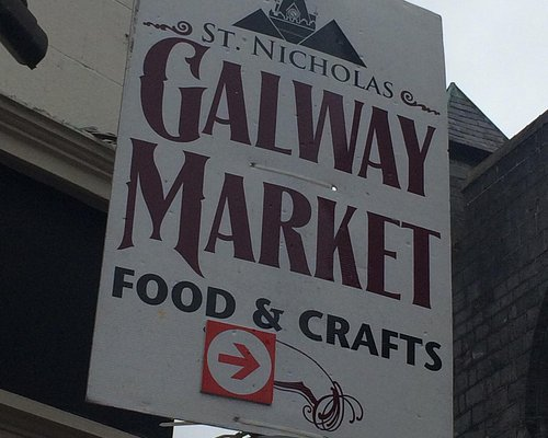 Keep an eye out for these signs if you're looking for the St. Nicholas' market!