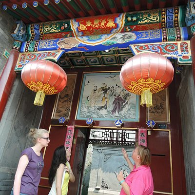 Walking tour in the hutongs of Beijing