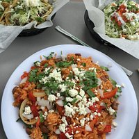 mexican fried rice dish