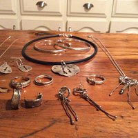 Some of Jeannette's pieces I'm happy to own.