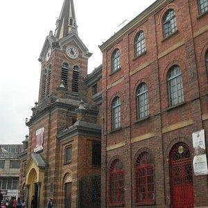Vista de la iglesia del Santuario