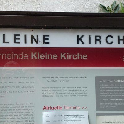 """Read all about the congregation in the """"Kleine Kirche"""""""