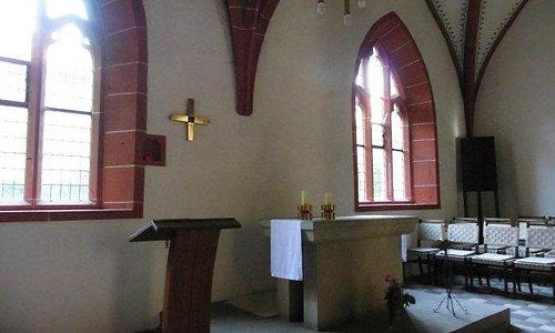 Hier hat Martin Luther gebetet und die Messe gefeiert