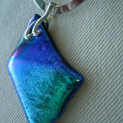 Dichroic Glass Jewelry, Bold and Makes a Statement !