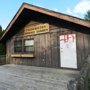 Visitor centre (botanic garden, Fredericton)