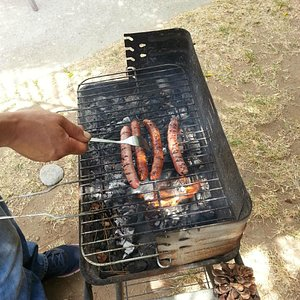 Barbecue time.