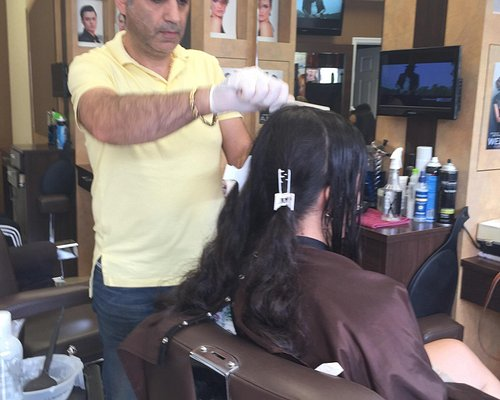 Park slope hair styling