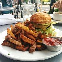 """The Basic"" burger"