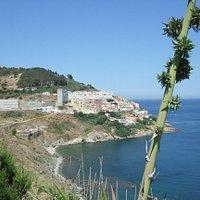 Desde el Recinto, el Sarchal y M. Hacho de Ceuta