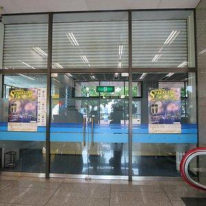 センターの入り口
