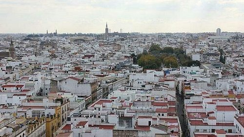 Vista de pájaro Sevilla