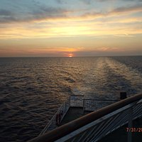 Crossing from Newhaven to Dieppe