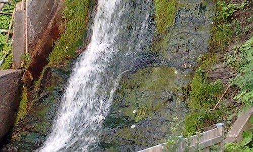 Waterfall next to B&B
