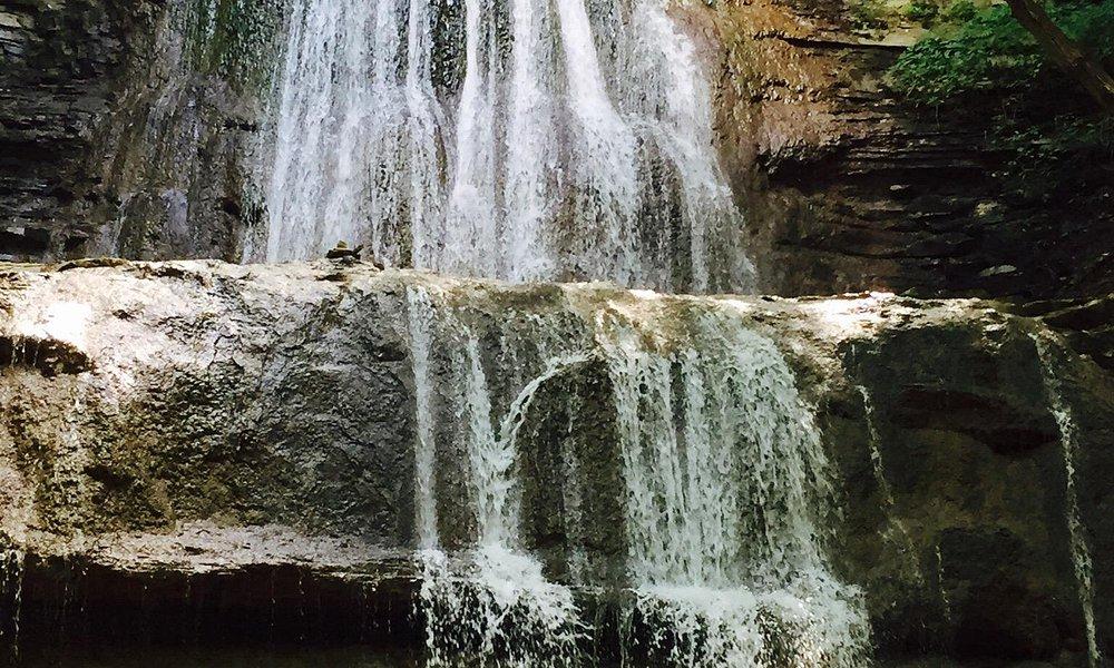 Sherman Falls, a short walk from Tiffany Falls