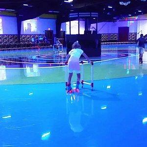 Roller skating rink