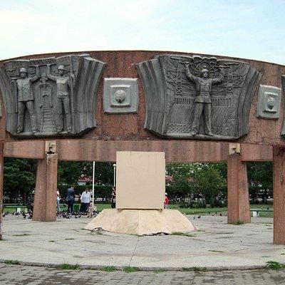 Памятник в честь награждения Амурской области орденом Ленина