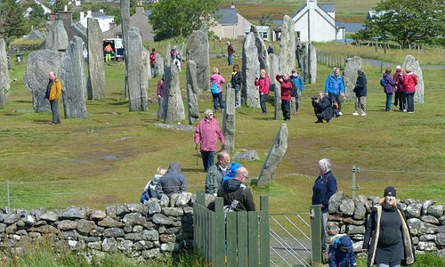 Calanais standing stones, can be difficult to photograph without people