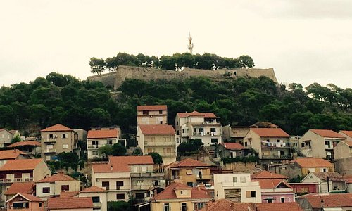 St Johns Fortress on the hill