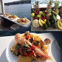 Specialità della cucina Marinara