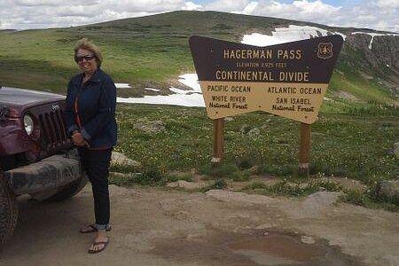 Top of Hagerman Pass