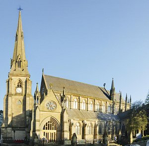 Bury Parish Church, Grade I Listed Building