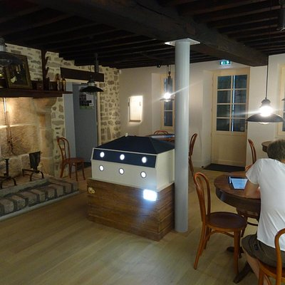 Une des salles du musée