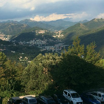Capolinea funicolare Zecca - Righi: lato monti