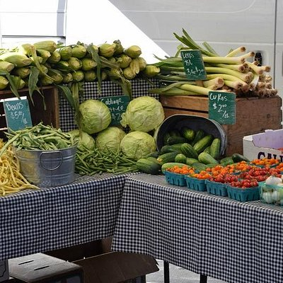 great selection of fresh produce