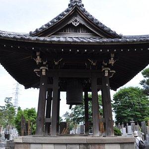 幸龍寺の鐘堂/鐘の音が美しいといわれています