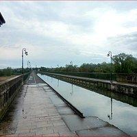Sur le Pont Canal de Briare