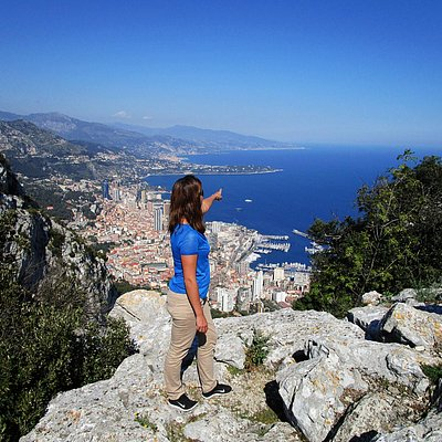 Randonnée pédestre vue sur Monaco