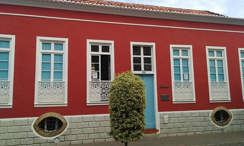 Front of Ethnography Museum in Praia, Cape Verde