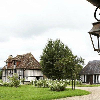 Vue du manoir du XVIIeme siècle