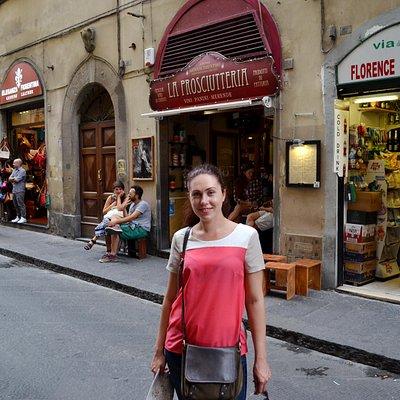 Флоренция. Via de' Neri